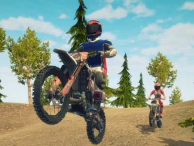 Dirt Bike Enduro Racing online hra