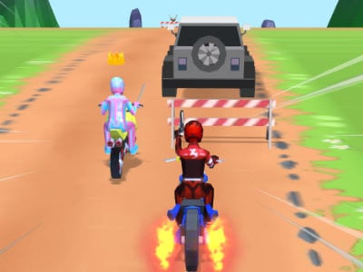 Moto Bike Attack Race Master online game