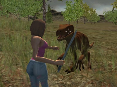 Dino Hunter: Killing Strand online hra