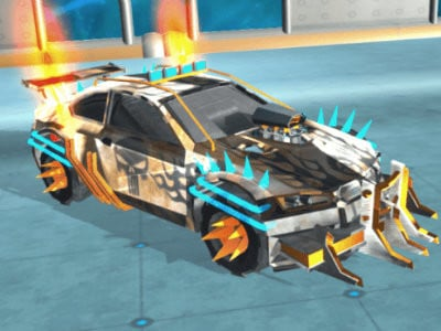 Impossible Cars Punk Stunt online game
