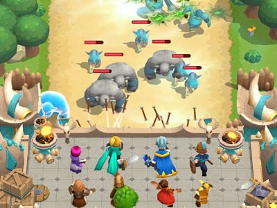 Wild Castle TD: Grow Empire online game