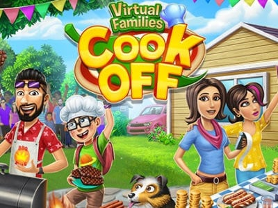 Virtual Families Cook Off online game