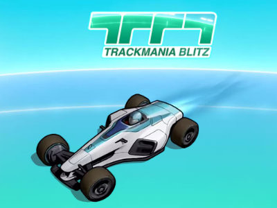 TrackMania Blitz online hra