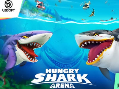 Hungry Shark Arena oнлайн-игра