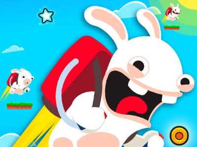 Rabbids Wild Race oнлайн-игра