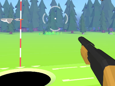 Golf Hunting 3D online hra