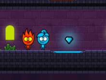 Flameboy and Watergirl The Magic Temple online game