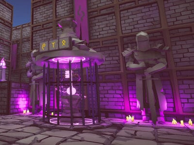 Shy Eye Labyrinth: The Incredible Mystery online game