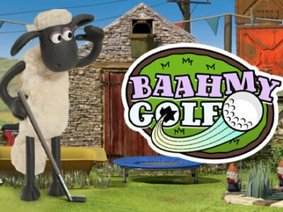 Shaun The Sheep Baahmy Golf oнлайн-игра