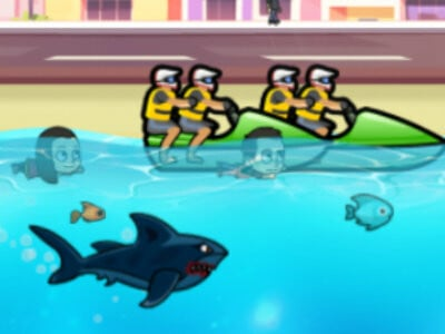 Angry Shark Miami oнлайн-игра