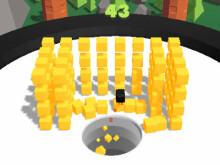 Hole vs Bombs online game