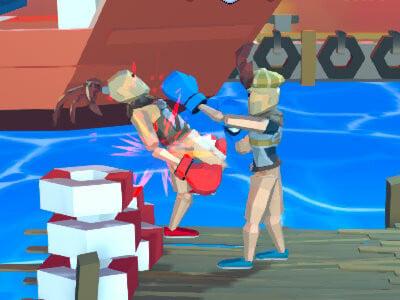 Funny Ragdoll Wrestlers online game