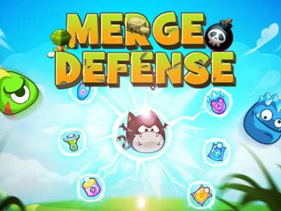 Merge Defense online game