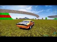 Voľná jazda v hre Madalin Stunt Cars 2