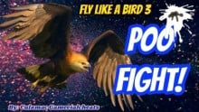 Poo Fight! Fly Like a Bird 3